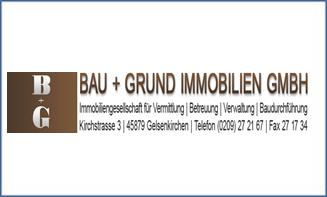 Logo von B+G BAU+GRUND Immobiliengesellschaft mbH
