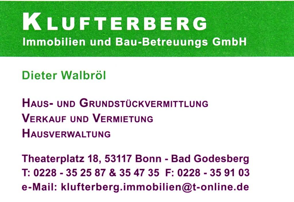 Logo von Klufterberg Immobilien und Bau-Betreuungs GmbH