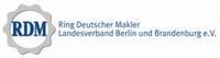 Logo von RDM Verband der Immobilien- berufe und Hausverwalter LV Berlin und Brandenburg e.V.