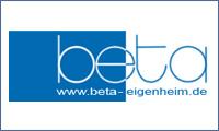 Logo von beta Eigenheim- und Grundstücksverwertungsgesell. mbH