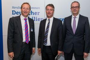 Andreas Ibel, Staatssekretär Gunther Adler, Thomas Meier