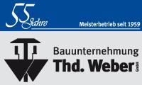 Logo von Bauunternehmung Theodor Weber GmbH