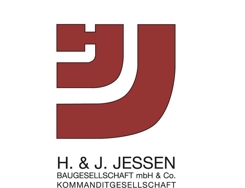 Logo von H. & J. Jessen Baugesellschaft mbH & Co. KG