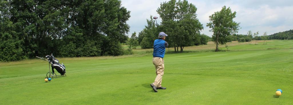 Golf Website Slider