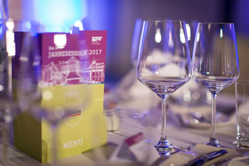 BFW - Jahresessen 2017 am 06.12.2017    Ort: Bolle Meierei, Alt-Moabit 98, 10559 Berlin.                                                                     Foto: Claudius Pflug
