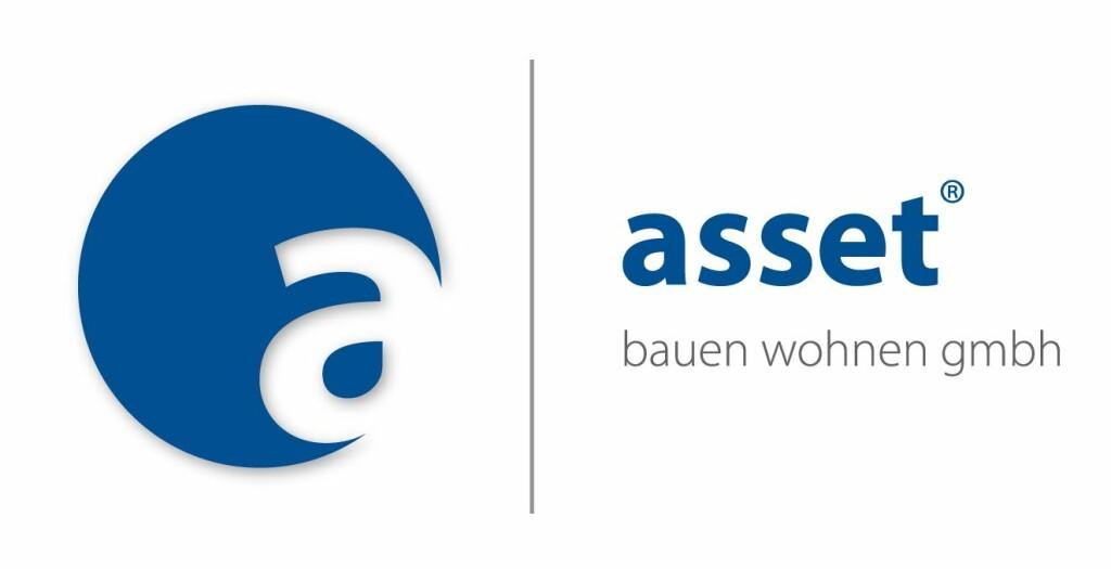 Logo von asset bauen und wohnen gmbh